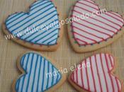 Galletas decoradas...corazones verano otro modelito veraniego!!