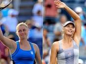 Open: Zvonareva Sharapova debutaron victorias