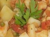 Sepia estofada patatas