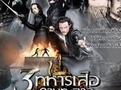 Póster tailandés 'Los tres mosqueteros