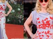 Madonna sorprende Festival Venecia looks sobrios recatados. W.E. premiere
