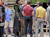 Imágenes rodaje 'The Avengers' Central Park