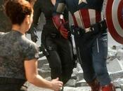 Cine-Los Vengadores: Imagenes Halcón, Viuda Negra Capi