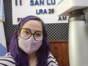 Elina Gómez Martin, entrevistó para Radio Nacional Luis