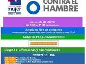 Encuentro mujeres emprendedoras empresarias. Networking Centro Mujer Talavera Acción contra Hambre