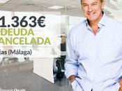 Repara Deuda abogados cancela 41.363€ Mijas (Málaga) Segunda Oportunidad