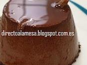 Flan chocolate