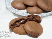 Galletas rellenas chocolate