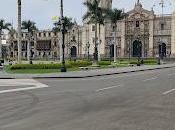 tarde centro histórico Lima, Perú