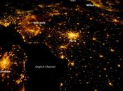 noroeste Europa noche