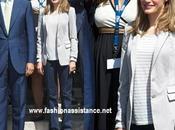 Príncipes Asturias reaparecen Santander. look Dña. Letizia
