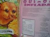 Cereal maíz quinoa inflada
