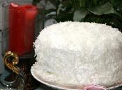 Bizcocho coco, relleno crema pastelera coco mermelada frambruesas