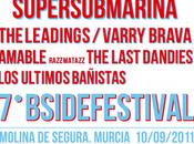 Horarios B-Side Festival 2011