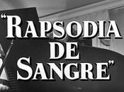 RAPSODIA SANGRE (España, 1957) Político