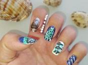 Diseño uñas para verano playa