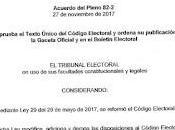 Texto Unico Código Electoral República Panamá