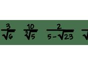 Racionalización fracciones