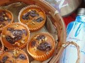 Muffins zanahoria chocolate