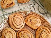 Galletas calabaza especiadas (Pumpkin spice roll cookies)