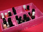 pequeña colección lacas uñas Organización