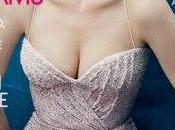 Michelle Williams, caracterizada como Marilyn, portada Vogue Octubre 2011