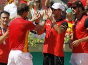 Copa Davis: España barrió Francia primer