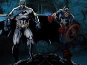 "Semejanzas diferencias: ""Batman"" ""Capitán América"""