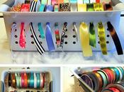 Ideas útiles: organizador cintas