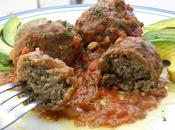 Albóndigas berenjenas salsa tomate estilo Cocco