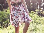 Vestidos floreados 2011