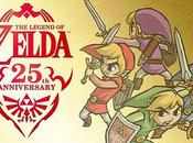 Zelda celebra años Four Swords
