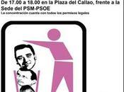 Concentración Madrid denunciando actuaciones antidemocráticas derechistas Alcalde Villalba