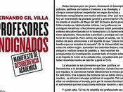 "Miscelánea Literaria: ""Profesores indignados"" indignan alumnos"