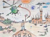 Gaza vista niños (Dibujos censurados Estados Unidos)