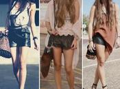 Street Style: Shorts cuero