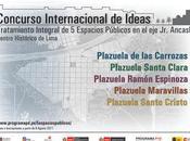 Concurso internacional ideas para centro histórico lima.