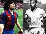 Maradona Pele podrían jugar juntos