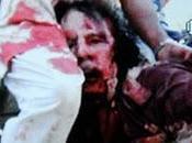 Muamar Gadafi muerto manos rebeldes. Imágenes.