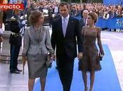 Entrega Premios Príncipe Asturias. Dña. Letizia elige vestido color café Felipe Varela