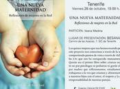 nueva maternidad, presentación Tenerife próximo viernes