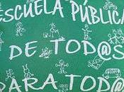 Stop camisetas verdes Escuela Pública