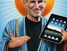 Humor Gráfico: Steve Jobs cielo