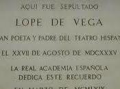 Dónde están enterrados Lope Vega, Calderón Barca, Cervantes Quevedo?