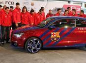 Estos coches jugadores Barça