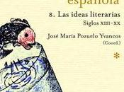 Historia ideas literarias España