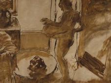 arte desnudo. Edgar Degas