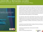 Invitación: Catástrofes demandas sociales 'Reflexiones feministas sobre gobierno Sebastián Piñera'