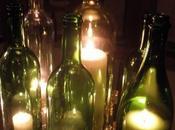 Decorar velas botellas
