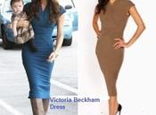 Victoria Beckham Longoria, amigas vestido Beckham)